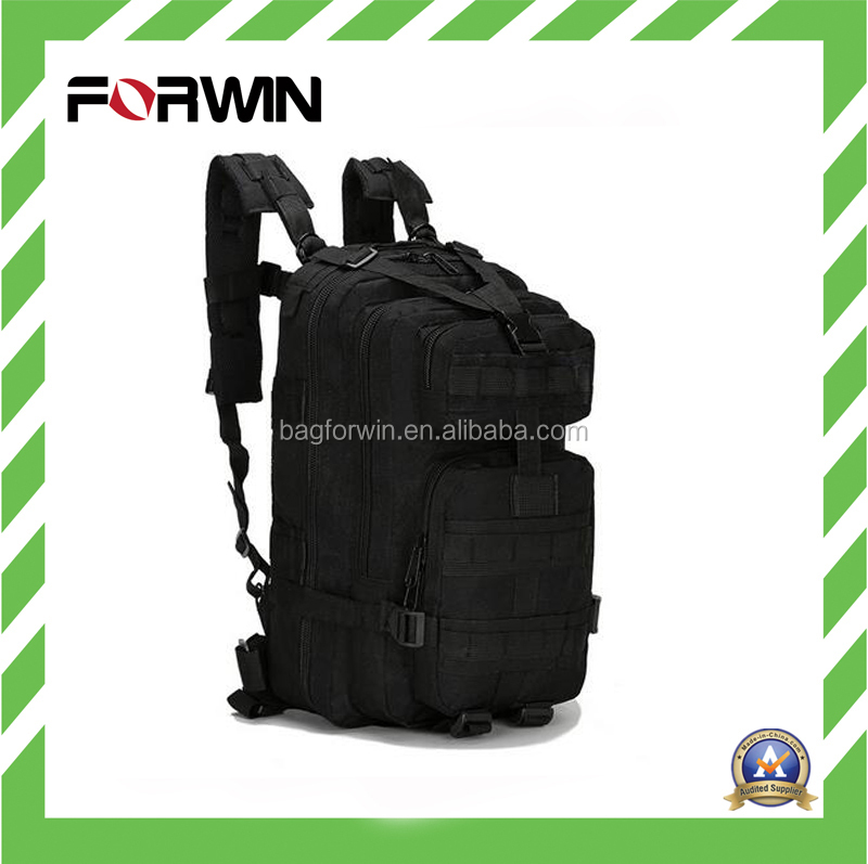 2017 New Design Military Backpack Tactical Black Military Backpack