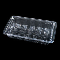 Food Grade Clamshell PET Fruit Packaging Box