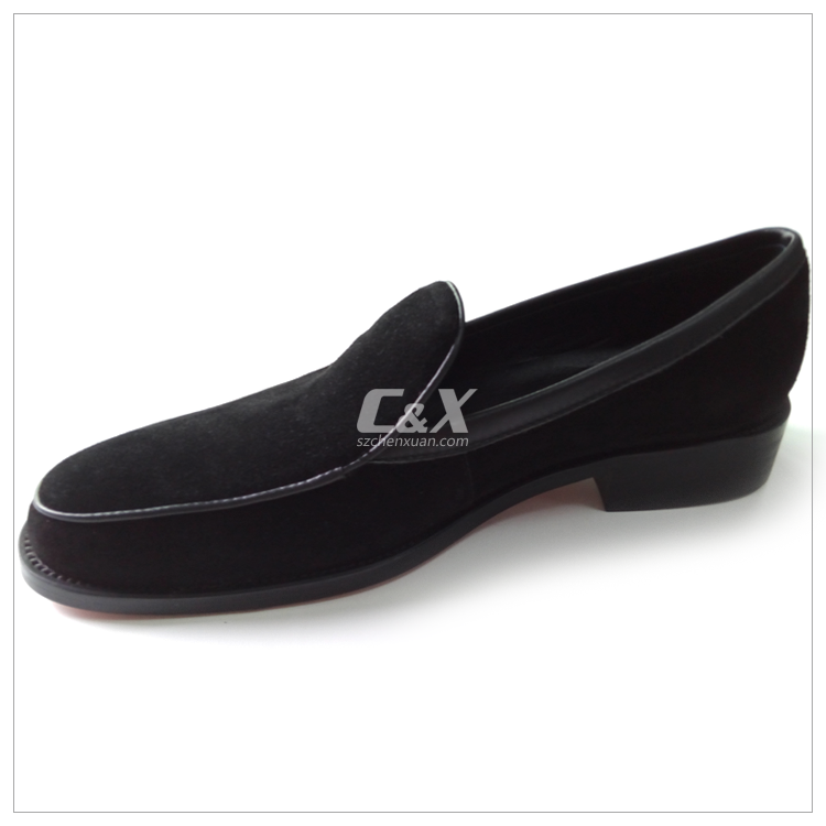 CXM023 2017 trendy mens suede loafers