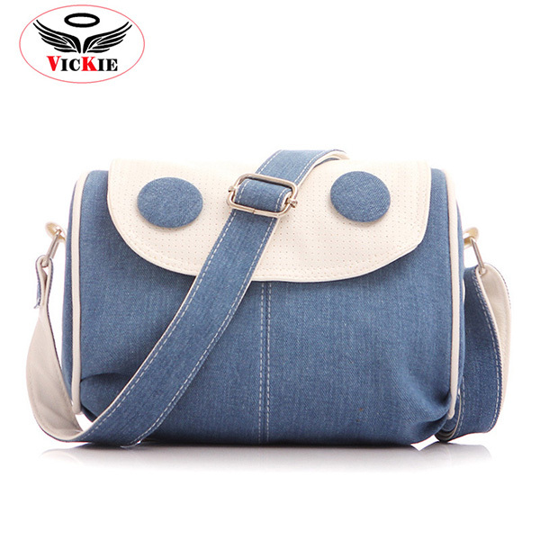 bcb0de5a595d Denim Women Messenger Bags Casual Canvas Lady Bag Girl Crossbody Bag Europe  Vintage Shoulder Bags Handbags Bolsos Mujer Sac H71