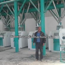 50Ton per day wheat flour grinding machine white wheat flour mill