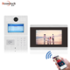Fashion design 7 inch TCP/IP digital SIP Video door camera intercom with record