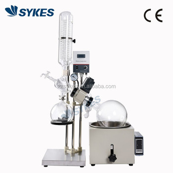 CE Approval Intelligent Temperature control 0.5L 1L 2L Lab Thin Film Rotary Evaporator Rotovap Rotavapor RE-201D