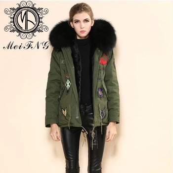 2017 Top Fashion Army Green Popular In London Hot Sale Women Parka ...