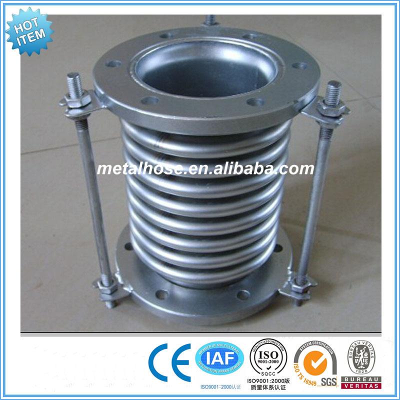 Flange type bellows expansion metal