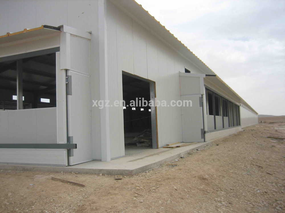cheap prefab chicken farm shed turnkey poultry projects with automatic equipment