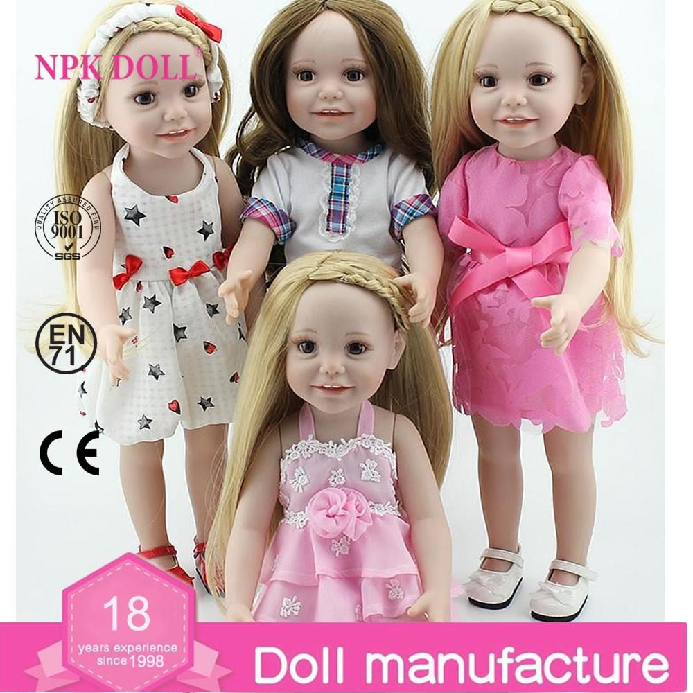 El más nuevo diseño bastante realista muñecas navidad regalo de ...
