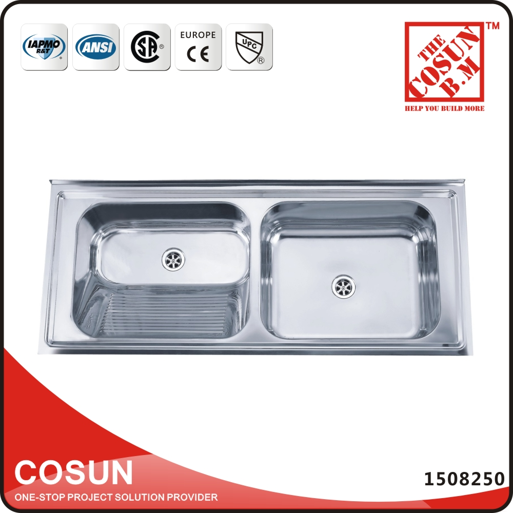 Stainless Steel Sink With Backsplash, Stainless Steel Sink With Backsplash  Suppliers and Manufacturers at Alibaba.com - Stainless Steel Sink With Backsplash, Stainless Steel Sink With