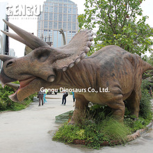 Triceratops Mechanical Robotic Animatronics Dinosaur