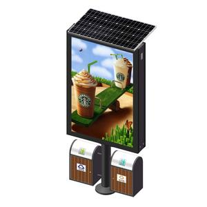 YEROO outdoor solar powered mupi advertising light box