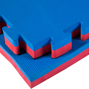 40mm Interlocking EVA tatami gym Floor Mats Blue & Red