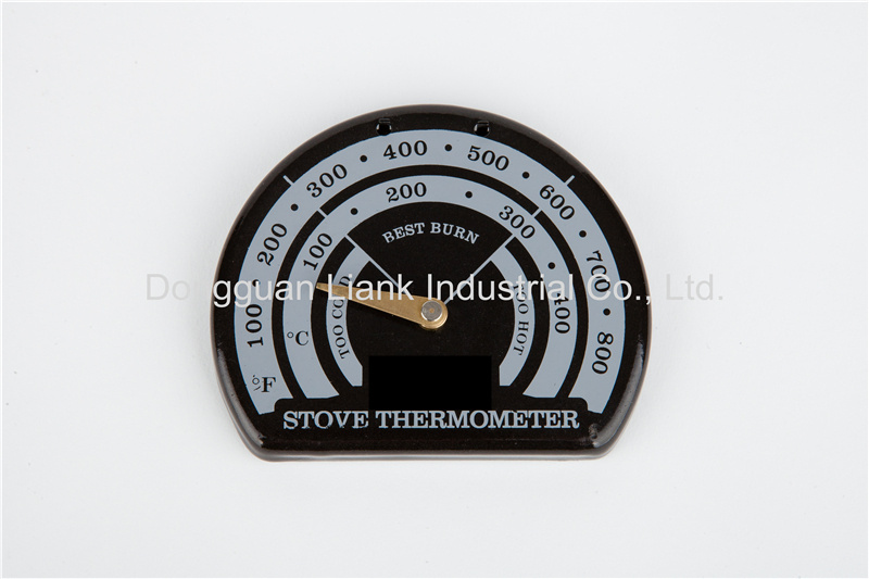 Liank Magnetic stove pipe thermometer,stove thermometer with backboard magnetic