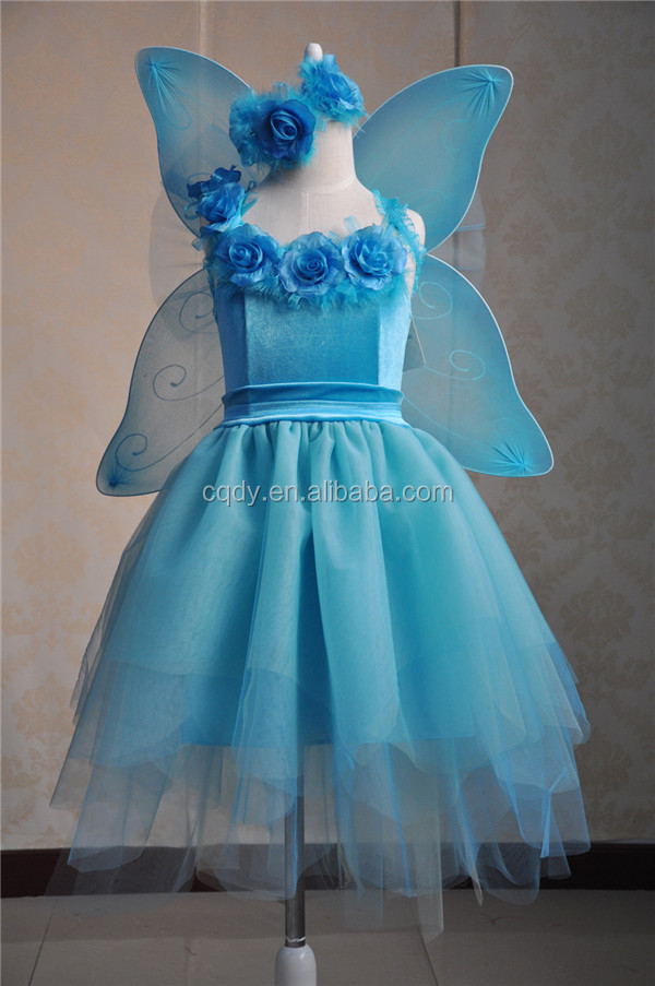 2015 Factory Wholesale Child Elf Costume With Butterfly Wings ...