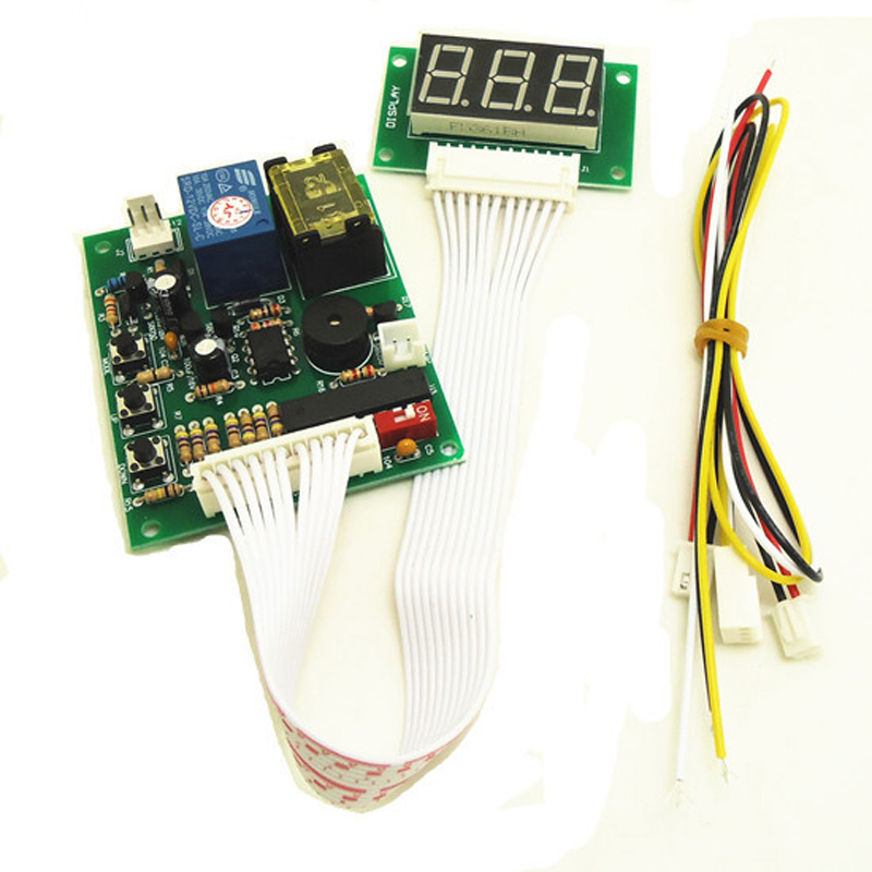 110V input and output Time Control Timer Board Power Supply for coin acceptor