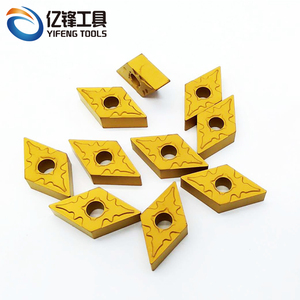 Diamond Carbide Inserts DNMG150604 DNMG441 Indexable CNC insert for Stainless Steel Turning