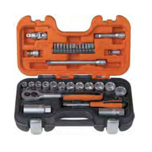 "Professionals Auto Repair Hand Tool Set 34 Pcs 1/4""and 3/8"" Socket sets S330"