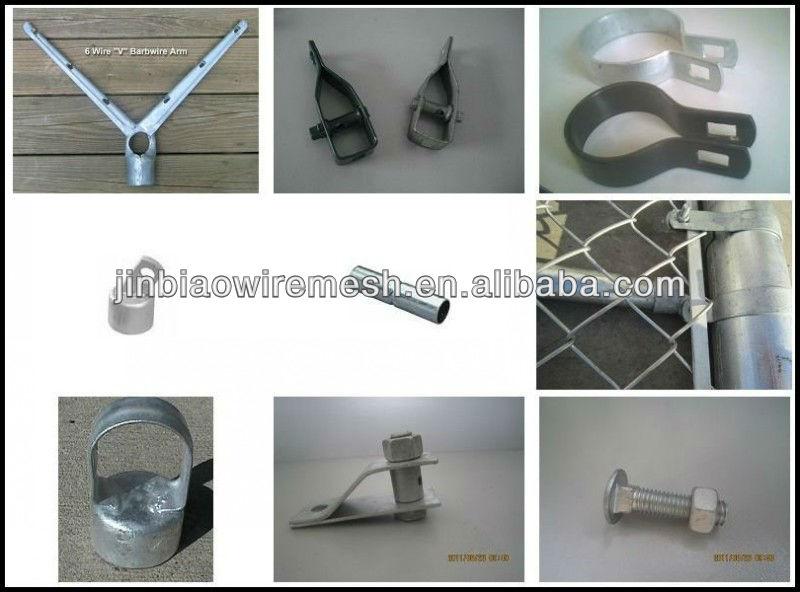 Digunakan Temporary Chain Link Pvc Outdoor Pagar Panel Kawat Besi Wire Mesh Harga Pagar Besi Di Algeria