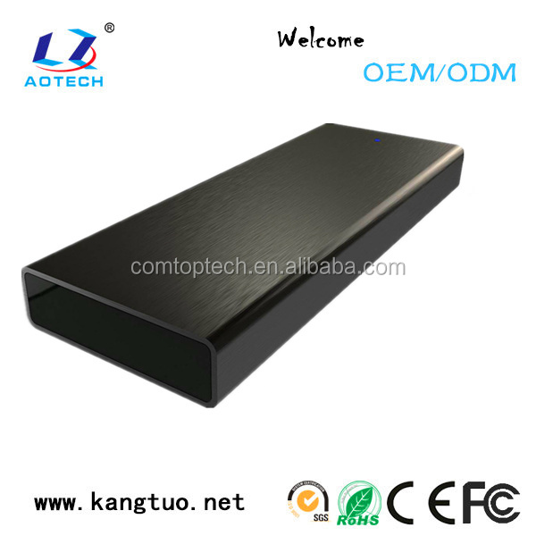 High speed 10Gbps USB3.0/M.2 hdd enclosure 2.5