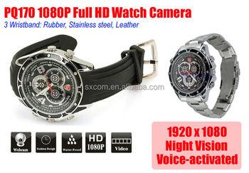 1920 X 1080p Full Hd Micro Cctv Camera Hidden Voice Recorder Watch ...