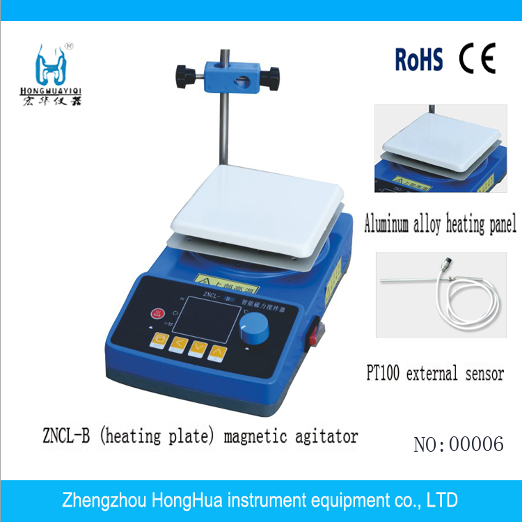 ZNCL-B Series Magnetic Stirrer with Hot Plate