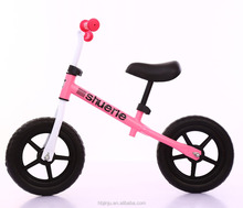 outdoor kids exercise balance bike / OEM 2 wheels kids bike no pedal / 12 inch child balance bicycle for sale