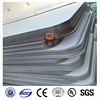 Zhongding plastic roofing material lexan 6mm polycarbonate sheets