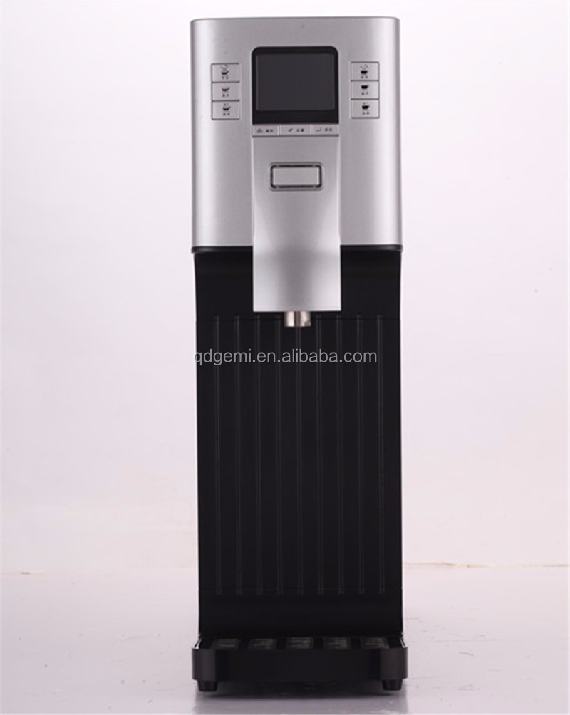 Drinking water plant energy -saving stainless steel hot cold touch screen water dispenser/water cooler
