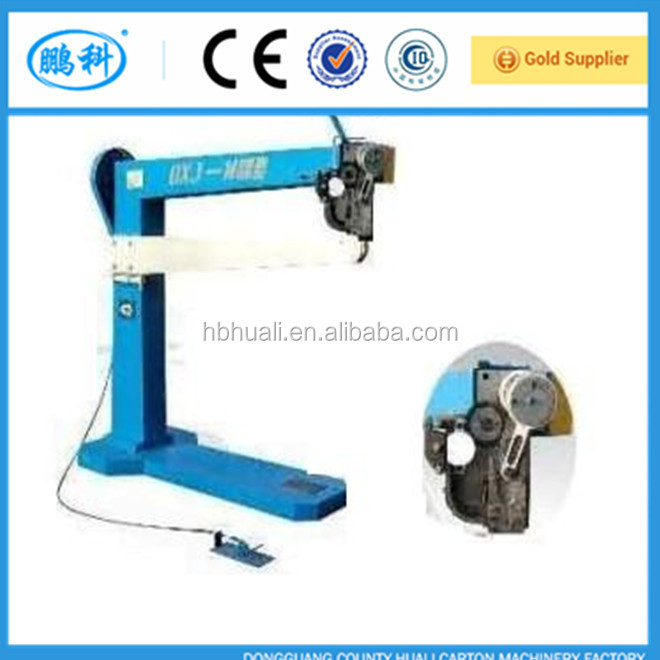 1400 corrugated carton box stapler machine/make cardboard