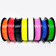 Hot selling 3D Printer Filament 1.75mm 3mm 2.85mm PLA ABS Nylon Flexible TPU TPE Wood HIPS PVA Plastic