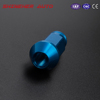 Universal OEM Racing Mustang Forged Racing Lug Nuts 1 2 20 , Blue