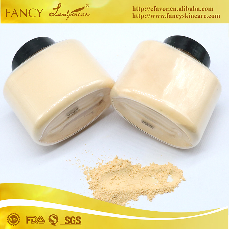 Professional brand new different color face powder with dark and lovely color