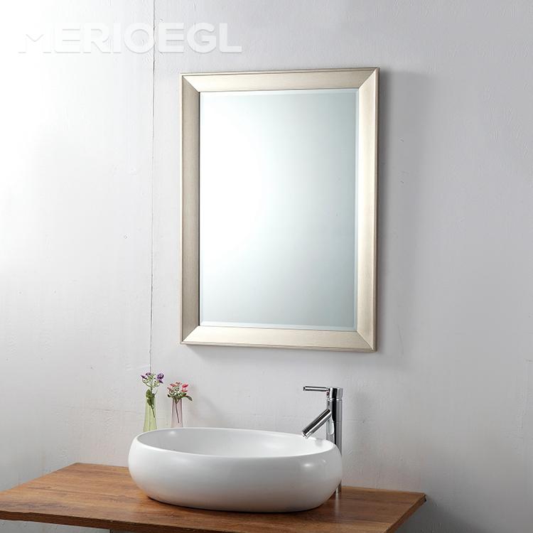 Popular del último estilo salón de espejos baño enmarcado vidrio ...