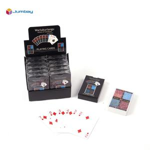 Plastic Paper PVC tarot playing card game packed with display box holder case
