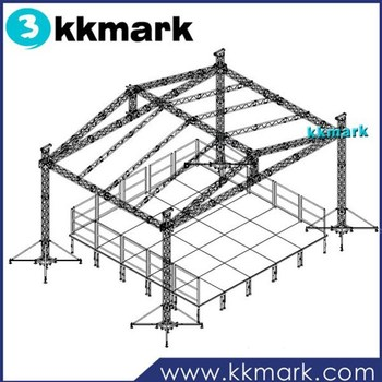 Box truss aluminium truss display booth steel roof trusses for Where to buy trusses