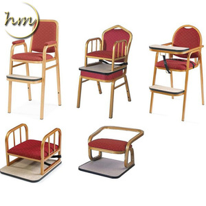 2017 Banqueting Aluminium Dining Baby Chairs