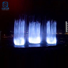 Factory direct sale large outdoor high tech comprehensive water show fountain design