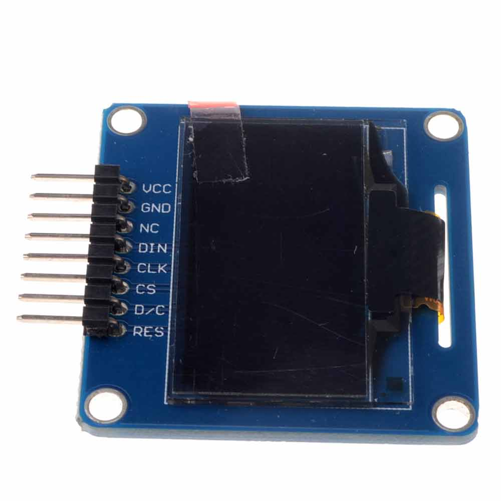 1.3 Inch SPI OLED Display Module 12864 LCD Screen Serial 8Pin Driver Chip SH1106 Curved needle