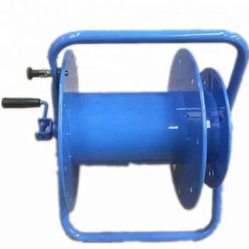 YTCR300 portable cable reel 300M, New handle cable wire reel, competitive optic cable reel stand
