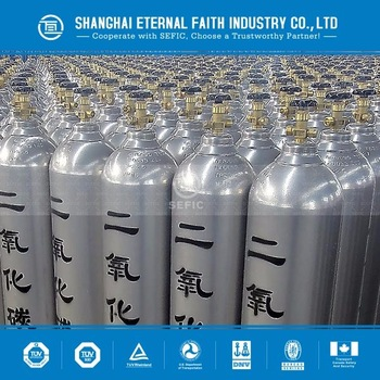 Hot Sale TPED approval High Pressure Seamless Steel oxygen, argon, nitrogen, CO2 Gas Cylinder, industry grade