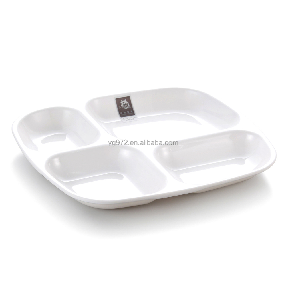 melamine ided plates 4 compartments Lunch box  sc 1 st  Alibaba & Melamine Divided Plates4 Compartments Lunch Box - Buy Melamine ...