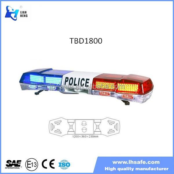 Led Warning Lights Of Police Car 100 Watt Speaker,Red Blue Led ...