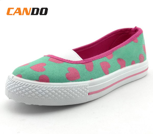 99706d09a0 Wenzhou lovely printing canvas shoes for girls