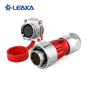 Circular Metal Connector Threaded Coupling Metal Round Connectors