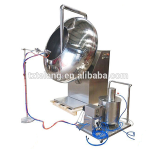 Sugar chocolate candy coating pan machine
