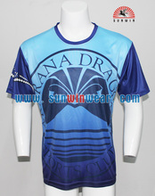 OEM service sublimation printing design your own t shirt