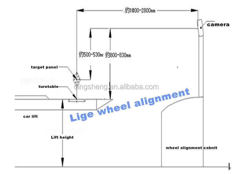 3d wheel alignment machine price tyre changer price wheel balancer auto  body frame machine