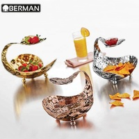 New products restaurant supplies party decorations fruit bowls metal buffet catering serving trays for wedding