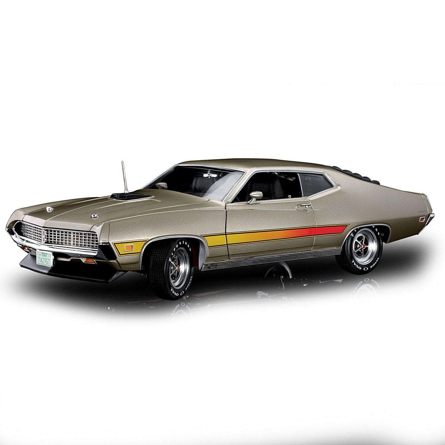 Cheap Diecast Jet Fighters Find Deals On Line Torio My First Plane Complete Set Get Quotations 118 Scale 1971 Ford Torino Gt Cobra Engine Car By The Hamilton