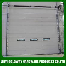 galvanized steel electric automatic side roll garage door