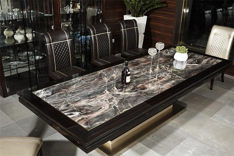 Kd934e European Luxury Home Used Furniture Modern Marble
